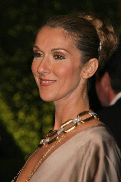 Celine Dion at the 2007 Vanity Fair Oscar Party. Mortons, West H
