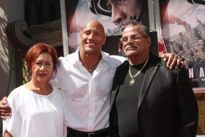 Dwayne Johnson parents
