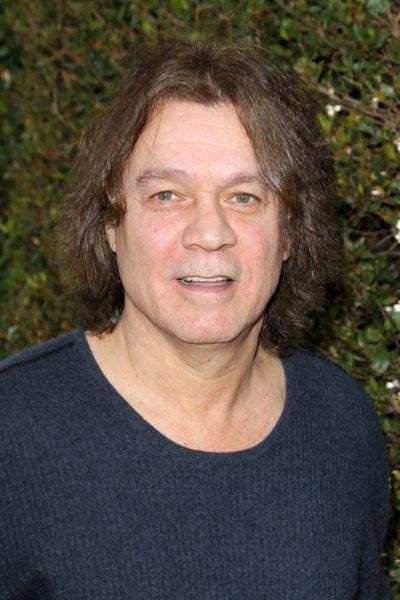 LOS ANGELES - MAR 10:  Eddie Van Halen arrives at the  10th Annu