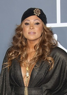 Tamia at the 55th Annual GRAMMY Awards, Staples Center, Los Ange