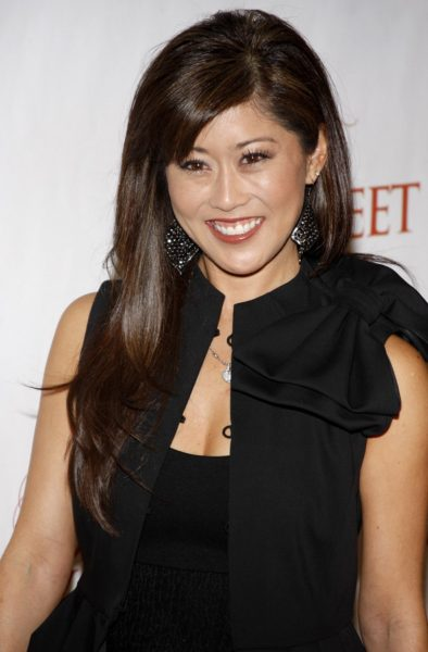 Kristi Yamaguchi at the Dizzy Feet Foundation's Celebration of D
