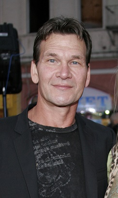 May 4, 2006. Patrick Swayze and Lisa Niemi at the Los Angeles Fa
