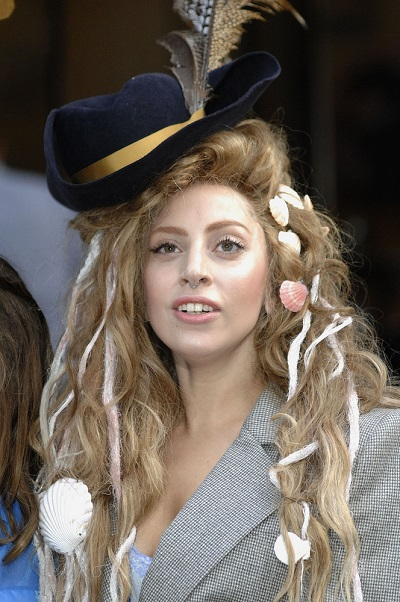 Lady Gaga Sighted Departing the Langham Hotel in Central London on August 28, 2013