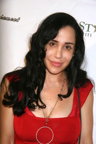 Nadya Suleman at Nadya 'Octomom' Suleman's 36th Birthday Party,