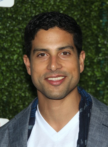 adam rodriguez and his family