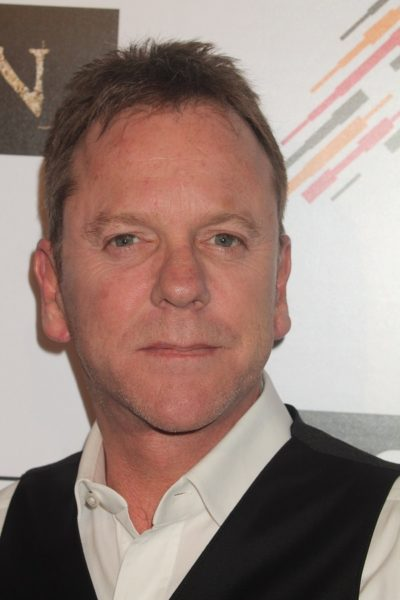LOS ANGELES - FEB 16:  Kiefer Sutherland at the Forsaken Los Ang