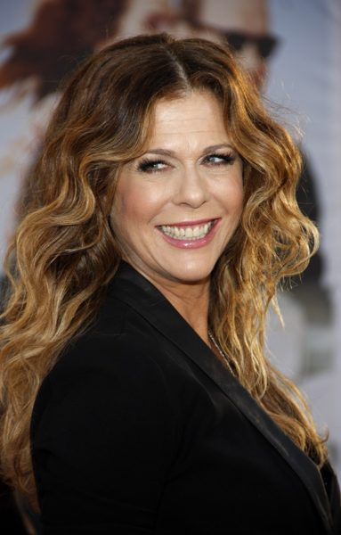 "Rita Wilson at the Los Angeles Premiere of ""Larry Crowne"" held a"