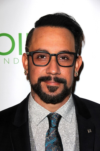 LOS ANGELES - SEP 13:  A.J. McLean at the Voices On Point at Cen