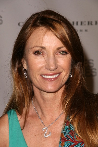 Jane Seymour at the 14th Annual Los Angeles Antiques Show Benefi