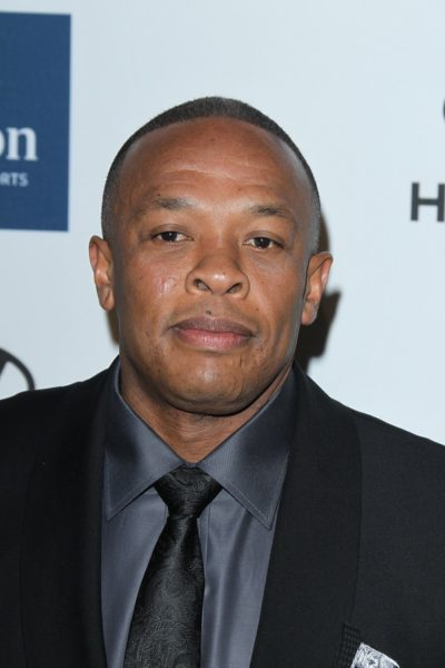 LOS ANGELES - FEB 11:  Dr. Dre arrives at the Pre-Grammy Party h