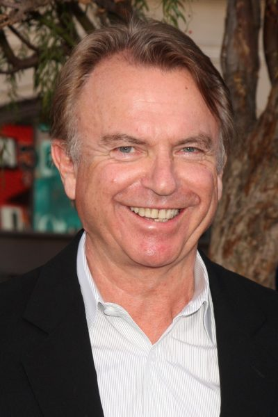 LOS ANGELES - SEP 19:  Sam Neill arrives at the Legend of the Gu
