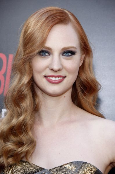 Deborah Ann Woll at the Season 7 premiere of HBO's 'True Blood'