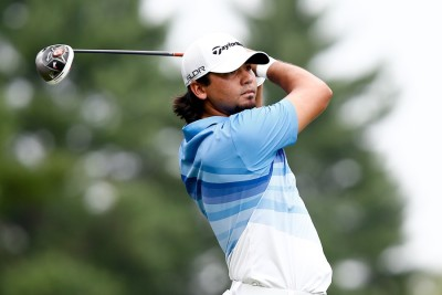 NORTON, MA-SEP 1: Jason Day tees off the sixth hole during the t