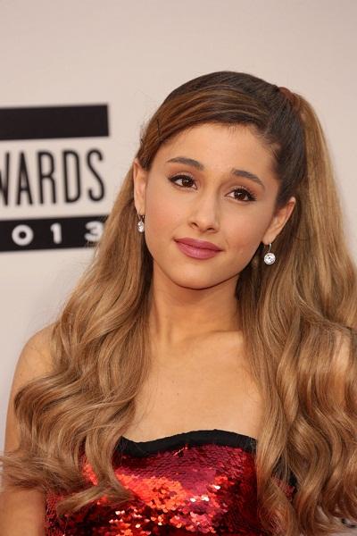 Ariana Grande Light Brown Hair 2015