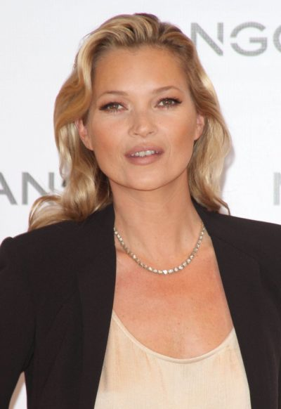 Kate Moss is Announced as the New Face of Mango Fashion at a Press Conference in London on January 24, 2012