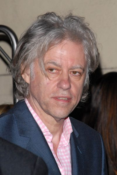 Bob Geldof  at the NYLON Magazine's May Issue Young Hollywood La
