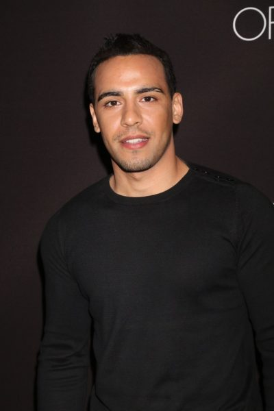 LOS ANGELES - FEB 16:  Victor Rasuk at the Triple 9 Premiere at