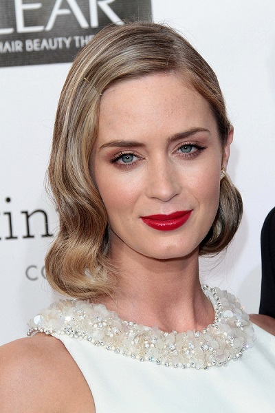Emily Blunt at the 18th Annual Critics' Choice Movie Awards Arri