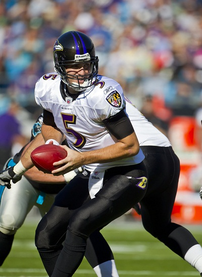 NFL: NOV 21 - Baltimore Ravens Vs Carolina Panthers