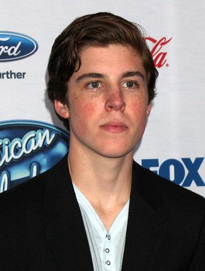 LOS ANGELES - FEB 20:  Sam Woolf at the American Idol 13 Finalis