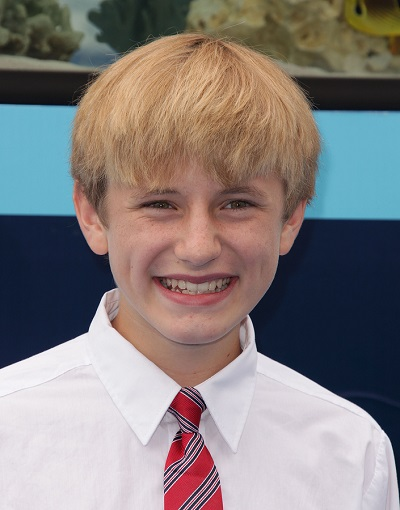 """LOS ANGELES - AUG 16:  NATHAN GAMBLE arriving to """"Dolphin Tale"""""""