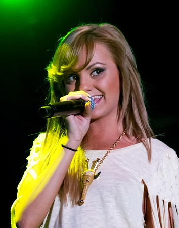 Milan, Italy - May 26: Alexandra Stan Performing Mr. Saxobeat In