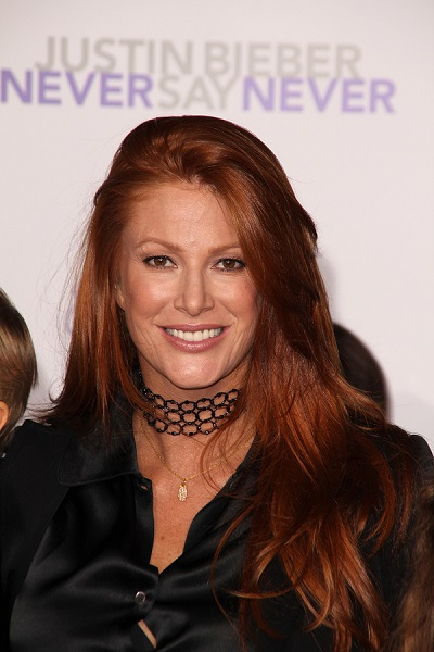 "Angie Everhart at the ""Justin Bieber: Never Say Never"" Los Angel"