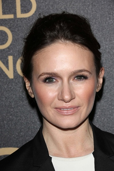 Emily Mortimer at the Hollywood Foreign Press Association And In