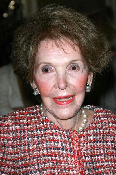 Nancy Reagan at the Saks Fifth Avenue and Colleagues Annual Spri