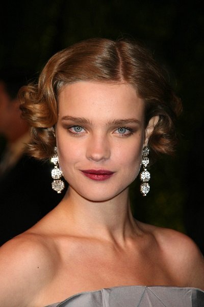 Natalia Vodianova at the 2007 Vanity Fair Oscar Party. Mortons,