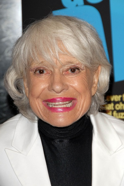 Carol Channing at the Los Angeles Premiere of 'Gotta Dance'. Lin