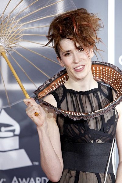 LOS ANGELES - JAN 31:  Imogen Heap arrives at the 52nd Annual GR