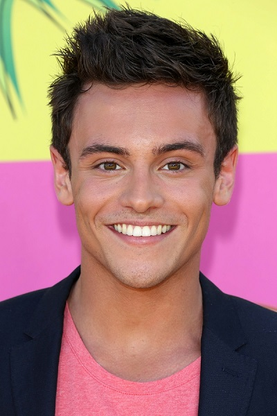Tom Daley at Nickelodeon's 26th Annual Kids' Choice Awards, USC