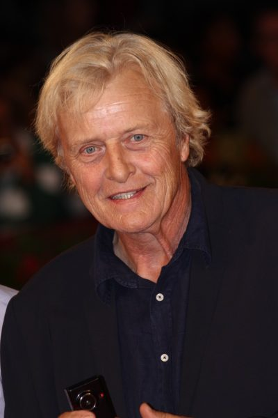 VENICE, ITALY - SEPTEMBER 06:  Rutger Hauer attends the 'Il Vill
