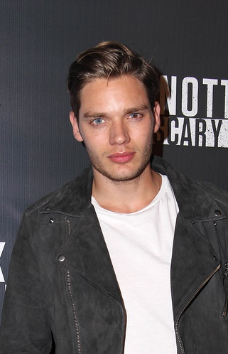 LOS ANGELES - OCT 3:  Dominic Sherwood at the Knott's Scary Farm