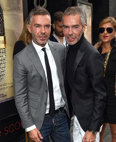 Robert Tateossian and David Furnish Party at Ronnie Scott's Jazz Club on June 14, 2015