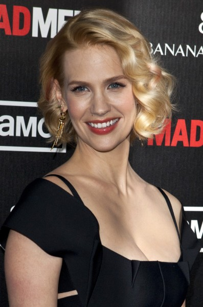 "03/14/2012 - January Jones - ""Mad Men"" Season 5 TV Series Los Angeles Premiere - Arrivals - ArcLight Cinemas Cinerama Dome - Hollywood, CA, USA - Keywords: Eyes to Camera, Head Shot Orientation: Portrait Face Count: 1 - False - Photo Credit: Emiley Schweich / PR Photos - Contact (1-866-551-7827) - Portrait Face Count: 1"