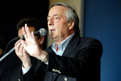 Argentina President Nestor Kirchner File Photos - (February 25, 1950 - October 27, 2010)