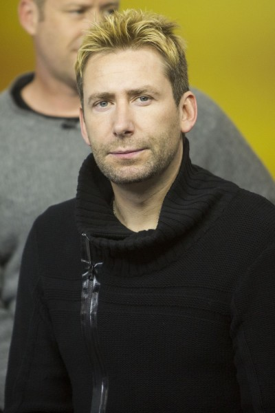Nickelback Visits The Morning Show in Toronto on November 21, 2014