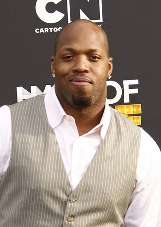 SANTA MONICA, CA - FEB 18: Terrell Suggs at the 2012 Cartoon Net