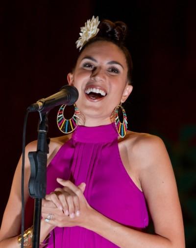 Maya Jupiter and Aloe Blacc in Concert at Aula Magna in Lisbon - May 4, 2011