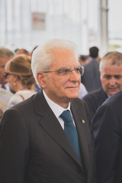 Italian President Mattarella Visiting Expo 2015 In Milan, Italy
