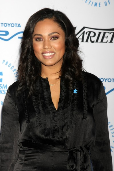 LOS ANGELES - OCT 8: Ayesha Curry at the Autism Speaks Celebrit