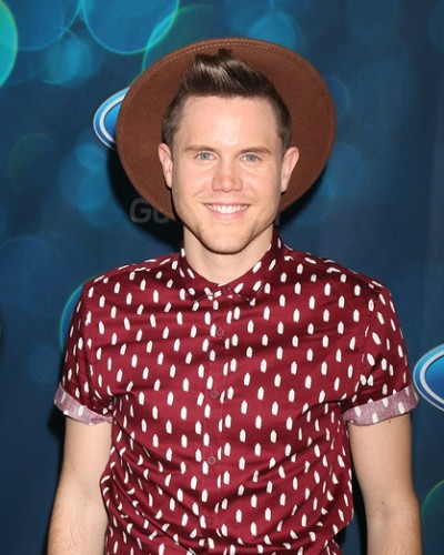 LOS ANGELES - FEB 25: Trent Harmon at the American Idol Farewel