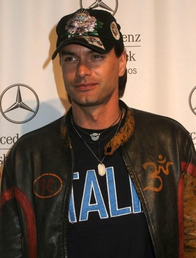 Marcus Schenkenberg at day four of the 2007 Mercedes-Benz Fashio