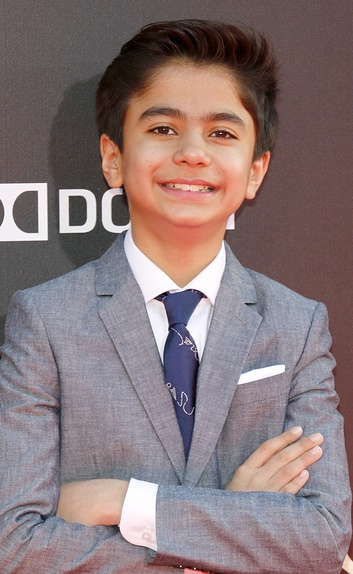 Neel Sethi at the Los Angeles premiere of 'The Jungle Book' held