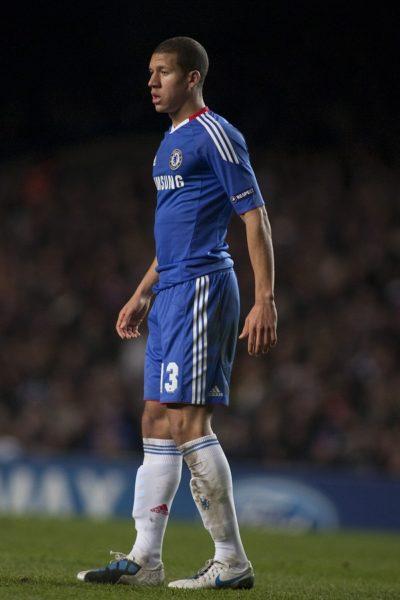 LONDON ENGLAND 23-11-2010. Chelsea's defender Jeffrey Bruma in a