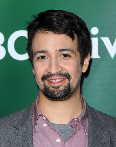 LOS ANGELES - JAN 06:  Lin-Manuel Miranda arrives to the NBC All
