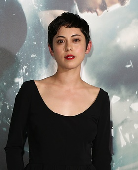 NEW YORK-MAR 16: Actress Rosa Salazar attends the U.S. premiere