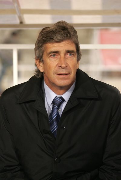BARCELONA - JAN 5: Manuel Pellegrini coach of Villareal during a